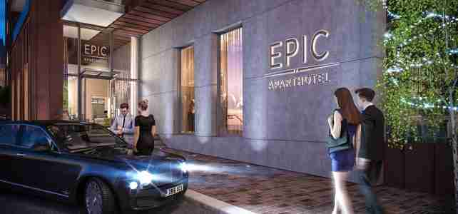 Epic Hotel & Residence liverpool dropoff