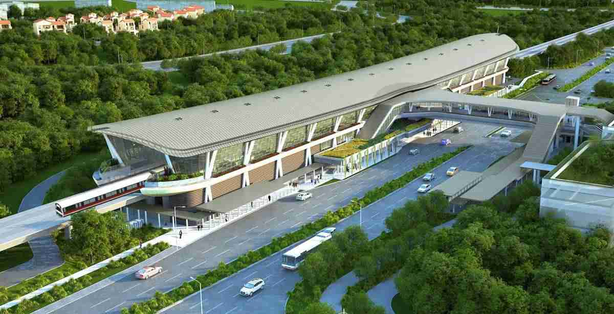 Canberra MRT Station near Parc Canberra Executive Condo