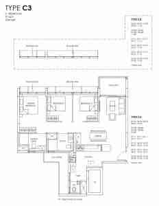 Provence Residence Floor Plan Type C3