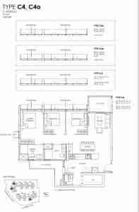 Provence Residence Floor Plan Type C4