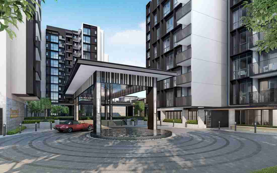 Provence Residence Arrival Plaza