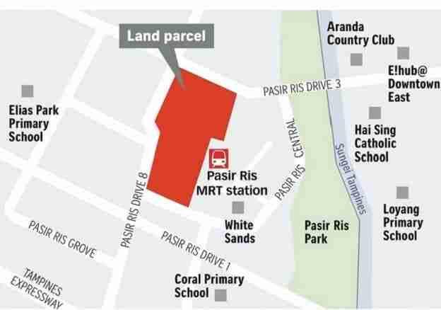 Pasir Ris 8 location